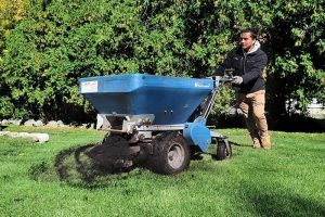 Lawn Aeration Service by Piedmont Lawn and Landscape